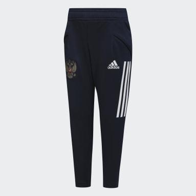 синий Спортивные брюки сборной России