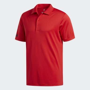 Polo Performance rouge Hommes Golf