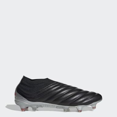 Calzado de Fútbol Copa 19+ Terreno Firme Negro Hombre Fútbol
