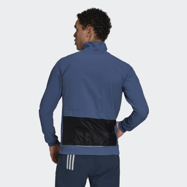 Men Cycling Blue The Trackstand Cycling Jacket
