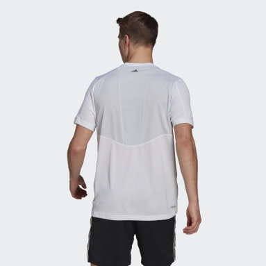 Men Training White Designed 2 Move Activated Tech AEROREADY Tee