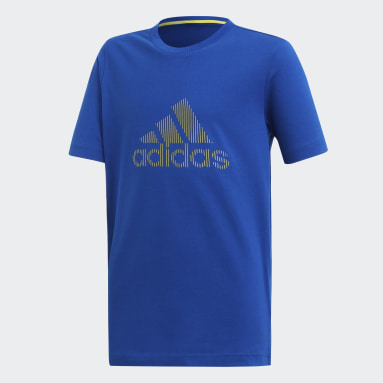 Playera ID Azul Niño Training