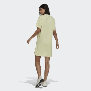 Robe t-shirt Tennis Luxe Jaune Femmes Originals