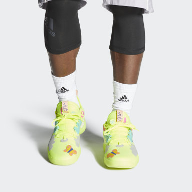 Chaussure Harden Vol. 5 Futurenatural Jaune Basketball
