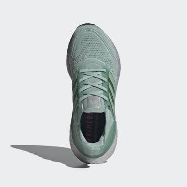 Chaussure Ultraboost 21 Vert Femmes Running
