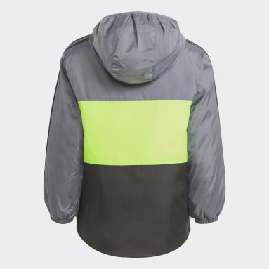 Jongens Fitness En Training Zwart Colorblock Insulated Jack