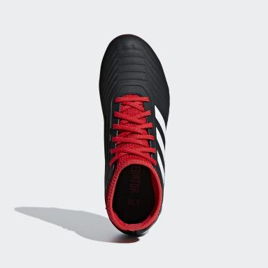 เด็กผู้ชาย ฟุตบอล สีดำ รองเท้าฟุตบอล Predator 18.3 Firm Ground