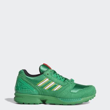 Erkek Originals Yeşil adidas ZX 8000 x LEGO® Ayakkabı