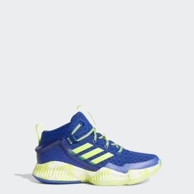 Kids Basketball Blue Lockdown Shoes