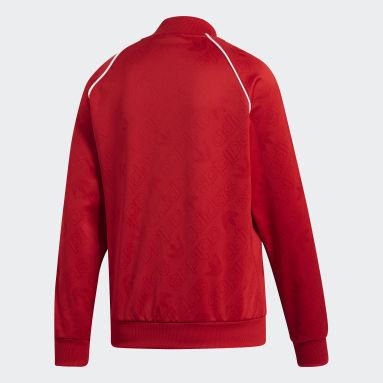 Women Originals Red SST Track Jacket