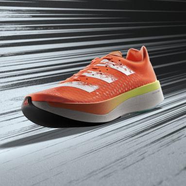 Hardlopen Oranje Adizero Adios Pro Schoenen