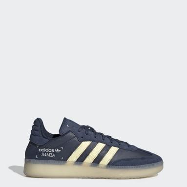 Zapatillas Samba RM Azul Hombre Originals