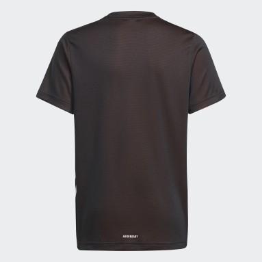 Camiseta AEROREADY Negro Niño Gimnasio Y Entrenamiento