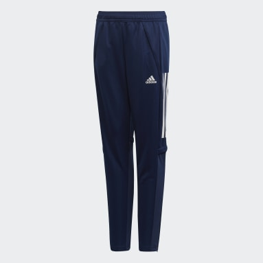 Pantalón entrenamiento Condivo 20 Azul Niño Gimnasio Y Entrenamiento