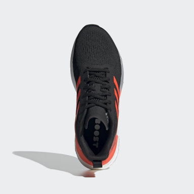 Men Running Black Response Super Shoes