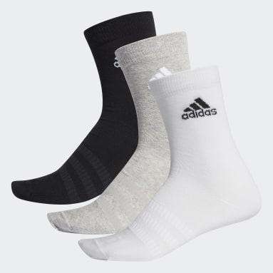 серый Три пары носков Crew