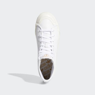 Originals White Nizza Hi RF Shoes