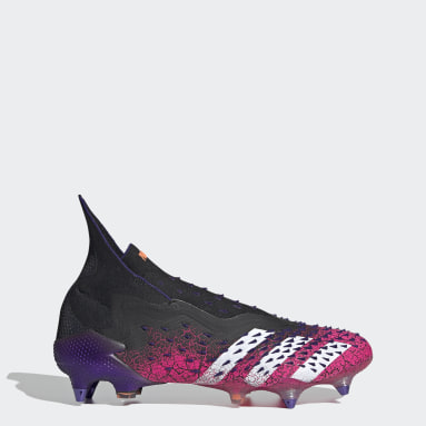Football Black Predator Freak+ Soft Ground Boots
