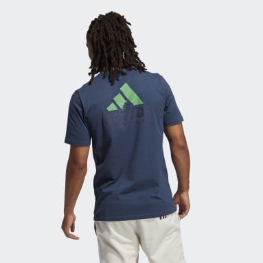 Men's Sportswear Blue Summer Pocket Tee