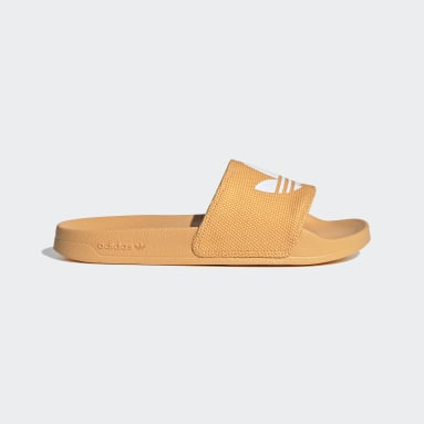 Women Originals Orange Adilette Lite Slides