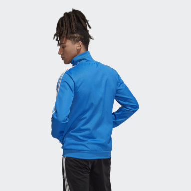 Men Originals Blue Adicolor Classics Beckenbauer Primeblue Track Jacket