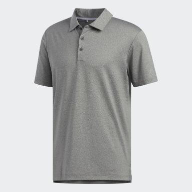 Men's Golf Brown Ultimate365 Heather Polo Shirt