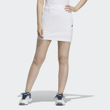 Women Golf White Skort