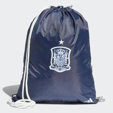 Voetbal Blauw Spanje Sporttas