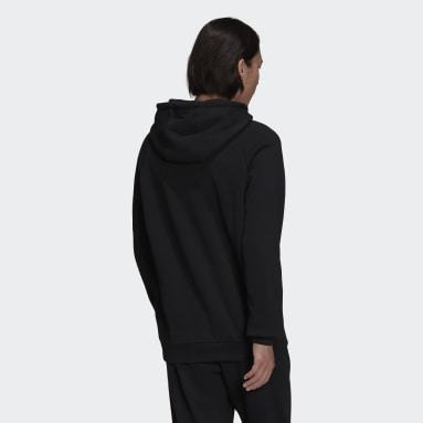 ผู้ชาย Originals สีดำ เสื้อฮู้ด Adicolor Shattered Trefoil