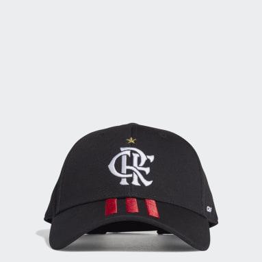 Boné Baseball CR Flamengo 1 (UNISSEX) Preto Futebol