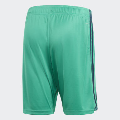 Men Football Green Real Madrid Third Shorts