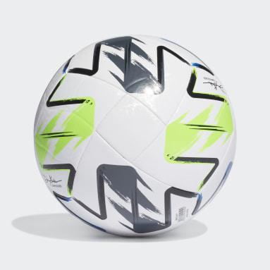 Men Soccer White MLS Nativo XXV Training Ball
