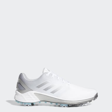 Men Golf White ZG21 Golf Shoes