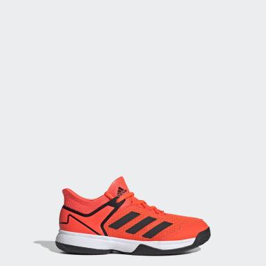 Children Tennis Orange Adizero Club Tennis Shoes