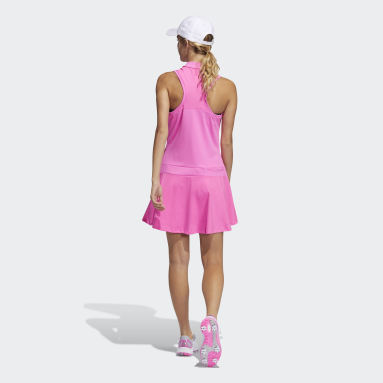 Frauen Golf Sport Performance Primegreen Kleid Rosa