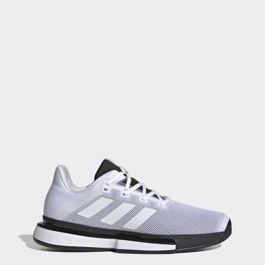Men Tennis White SoleMatch Bounce Shoes