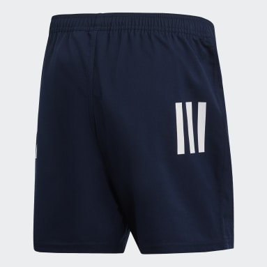 Short 3-Stripes Blu Uomo Rugby