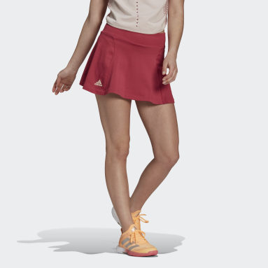 Women Tennis Pink Primeblue Tennis Knit Skirt
