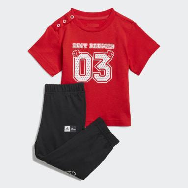 Camiseta y pantalón adidas x Disney Rojo Niño Sportswear