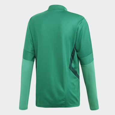 Heren Fitness En Training Groen Tiro 19 Training Sweater