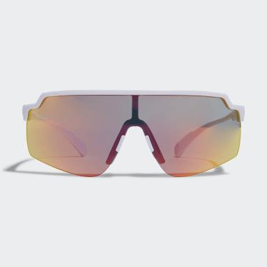 Running White Sport Sunglasses SP0018