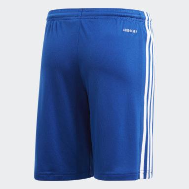 Short Squadra 21 Bleu Adolescents Soccer