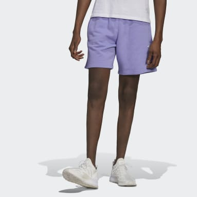 Men Originals Purple LOUNGEWEAR Essentials Shorts