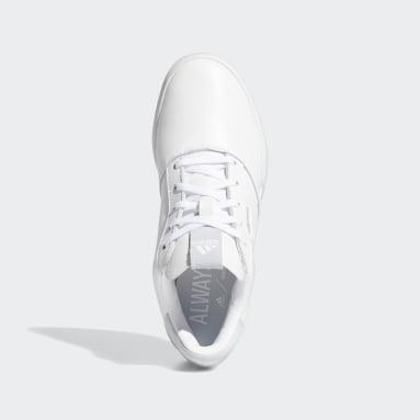 Frauen Golf Adicross Retro Golfschuh Weiß
