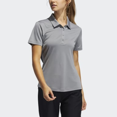 Women Golf Grey Performance Primegreen Polo Shirt