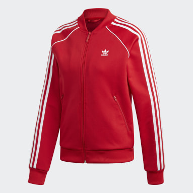 Women Originals Red SST Track Jacket