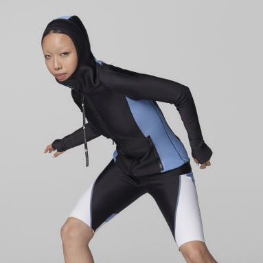 Women adidas by Stella McCartney Black adidas by Stella McCartney BeachDefender Midlayer Jacket