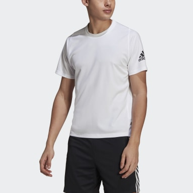 Men Training White Freelift Ultimate AEROREADY Designed 2 Move Sport Tee