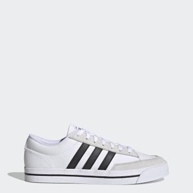 Skateboarding White Retrovulc Shoes
