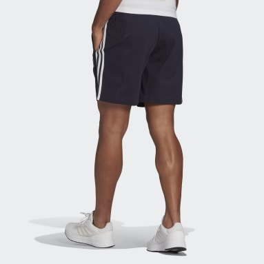 Men Sportswear Blue AEROREADY Essentials 3-Stripes Shorts